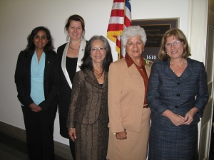APA members meet with Rep. Napolitano to discuss immigrant mental health