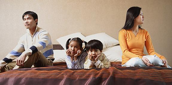 Asian American family