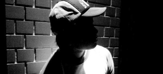 Teenage boy in the shadows