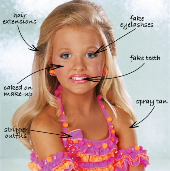 Toddlers and Tiaras contestant