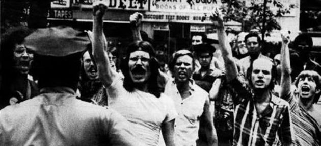 Stonewall Uprising protesters