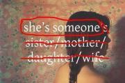 She's someone
