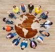 Group of Multiethnic Diverse World People