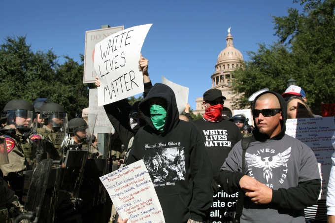 White Lives Matter Rally, Austin, Tx, Nov. 19, 2016